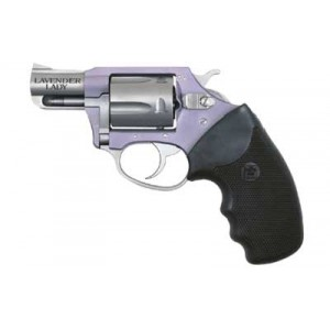 """Charter Arms Lavender Lady .38 Special 5-Shot 2"""" Revolver in Fired Case/Lavender - 53840"""