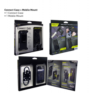 Connect Case Combo Pack Color: Mobile Mount Black