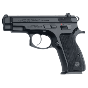 "CZ 75C 9mm 10+1 3.9"" Pistol in Satin Nickel - 1193"