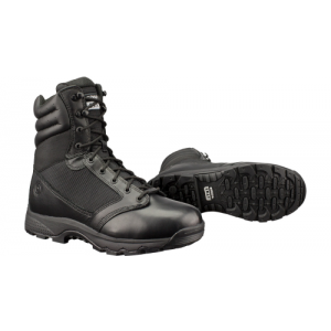 WinX2 Tact Waterproof 15.0 BLK  Full Grain Leather Toe 100 Denier Nylon, highly breathable membrane. Slip-Resistant, Oil-Resistant outsole, compression molded orthotic footbed. Tough & Durable moisture wicking lining. Riveted steel shank sandwiched betwee