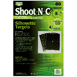 "Birchwood Casey 34605 Shoot-N-C Silhouette 12""x18"" 5 Pack"