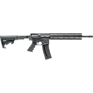 "Chiappa M4-22 Gen-II Pro .22 Long Rifle 28-Round 18.5"" Semi-Automatic Rifle in Black - CF500088"