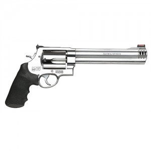 "Smith & Wesson 500 .500 S&W 5-Shot 8.37"" Revolver in Satin Stainless - 163501"