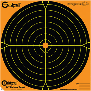 "Caldwell 495-253 Orange Peel Targets Sight-In 16"" 5 Pack"