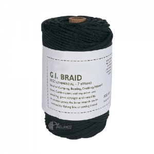 PARACORD, 300' SPOOL BLK