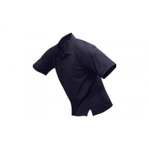 Vertx Coldblack Men's Short Sleeve Polo in Navy - Large