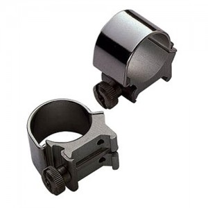 """Weaver 1"""" Extra High Detachable Top Mount Rings w/Gloss Black Finish 49080"""
