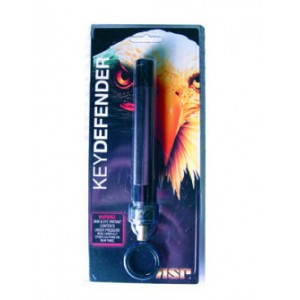 Asp Key Defender Pepper Spray, 2 Oz., With Heat, Black 55154