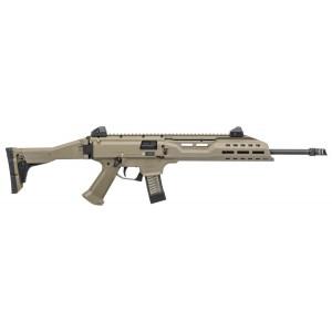 """CZ Scorpion EVO 3 S1 9mm 20-Round 16.2"""" Semi-Automatic Rifle in Flat Dark Earth (Muzzle Brake) - 08541"""