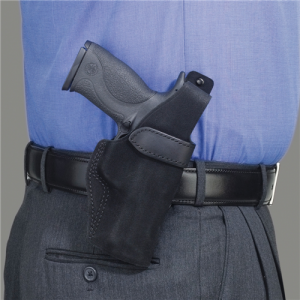 """Galco International Wraith Right-Hand Belt Holster for Ruger SP101 in Black (3"""") - WTH164B"""