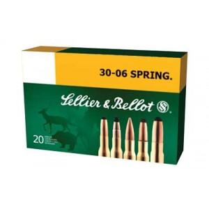 Magtech Ammunition Training .30-06 Springfield Full Metal Jacket, 180 Grain (20 Rounds) - SB3006A