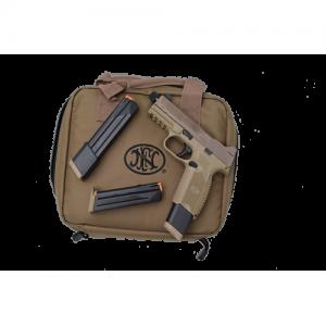 "FN 509 Tactical 9mm 24+1 4.5"" Pistol in Flat Dark Earth (Threaded + Optic Ready) - 66-100373"
