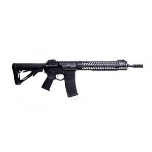 """Spike's Tactical Crusader .223 Remington/5.56 NATO 30-Round 16"""" (14.5"""" with Pinned Brake) Semi-Automatic Rifle in Black - STR5525-M2D-C"""