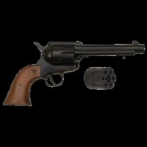 "Citadel 1873 Standard .22 Long Rifle/.22 Winchester Magnum 6-Shot 5.5"" Revolver in Black - PCR1873225WT"