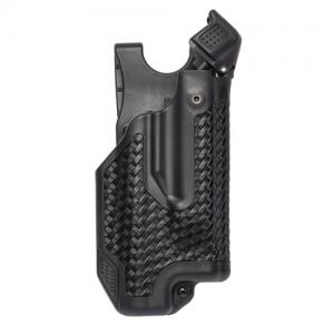 Blackhawk Epoch L3 Molded Light Bearing Right-Hand Belt Holster for Glock 20 in Black - 44E613BK-R