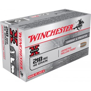 Winchester Super-X .218 Winchester Bee Hollow Point, 46 Grain (50 Rounds) - X218B