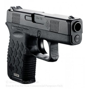 "Diamondback DB9 9mm 6+1 3"" Pistol in Black (Micro-Compact) - DB9NS"