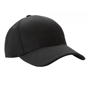 5.11 Tactical Uniform Cap in Black - One Size Fits Most
