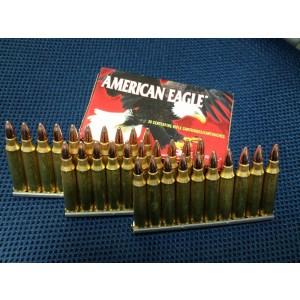 Federal Cartridge American Eagle Target .223 Remington/5.56 NATO Metal Case, 55 Grain (30 Rounds) - AE223AF