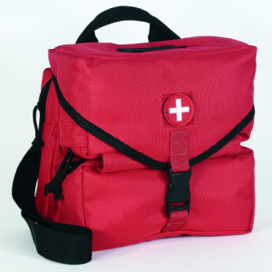 Medical Supply Bag (Empty) Color: Red