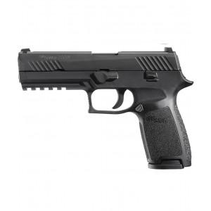 "Sig Sauer P320 Full Size .45 ACP 10+1 4.7"" Pistol in Black Nitron (Internal Safety System) - 320F45B"