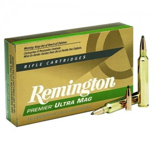 Remington Short Action Ultra Magnum .300 Winchester Short Magnum Core-Lokt Pointed Soft Point, 165 Grain (20 Rounds) - PR300SM2