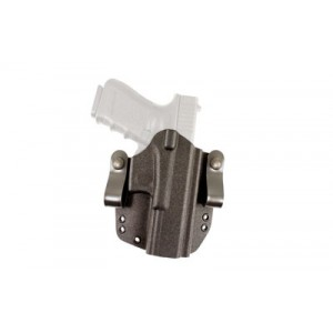 Desantis Speed Lite Raptor, Belt Holster, Right Hand, Black, Fits Glock 43, Kydex 147ka8bz0 - 147KA8BZ0