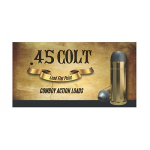 Aguila .45 Long Colt Soft Point, 200 Grain (50 Rounds) - 1E454319
