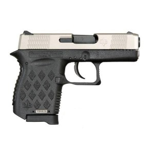 "Diamondback DB9 9mm 6+1 3"" Pistol in Stainless Slide/Black Frame (Micro-Compact) - DB9EX"