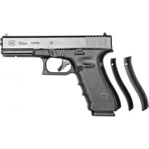 """Glock 22 .40 S&W 15+1 4.49"""" Pistol in Matte Black (Gen 4) - PG2250203"""