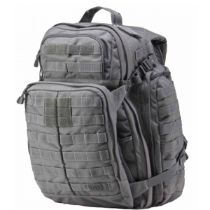 5.11 Tactical Rush 72 Waterproof Backpack in Storm Grey 1000D Nylon - 58602