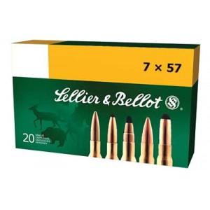 Magtech Ammunition 7X57 Mauser Soft Point, 140 Grain (20 Rounds) - SB757B