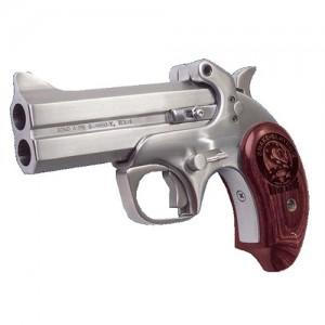 "Bond Arms Snakeslayer .410/.45 Long Colt 2-Shot 4.25"" Derringer in Matte Stainless (Bass IV) - BASS4"