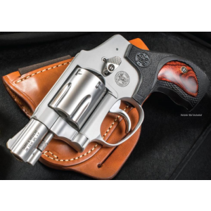 "Smith & Wesson 642 Performance Center .38 Special 5+1 1.875"" Pistol in Two Tone - Matte Silver - 10186"