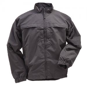 5.11 Tactical Response Men's Full Zip Jacket in Black - X-Small