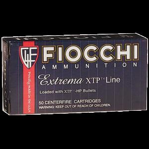 Fiocchi Ammunition 9mm XTP Jacket Hollow Point, 124 Grain (25 Rounds) - 9XTPC25