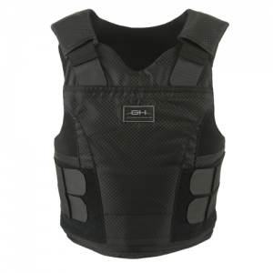 M/Male, Black, LG Reg, (2) Concealable Carriers and [STP] 5x8  Soft Trauma Plate