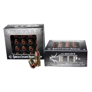 G2 Research Inc RIP .40 S&W Hollow Point, 115 Grain (20 Rounds) - RIP 40 S&W