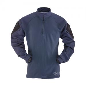 Tru Spec TRU Combat Shirt Men's 1/4 Zip Jacket in Navy - Large