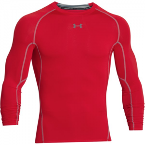 Under Armour HeatGear Men's Undershirt in Red - Small