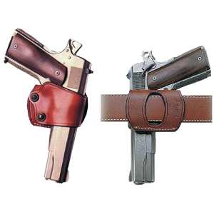 "Galco International Yaqui Right-Hand Belt Holster for Beretta 92, 96/Taurus 92, 99, 100, 101 in Tan (5"") - YAQ202"