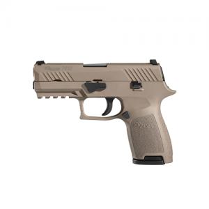 "Sig Sauer P320 Full Size .45 ACP 14+1 4.7"" Pistol in Flat Dark Earth (FDE) (Internal Safety System) - 320F45FDE"