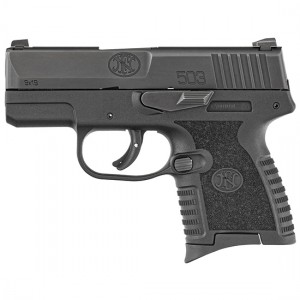 """FN 503 Compact 9mm 8+1 3.1"""" Pistol in Black (3-dot Iron Sights) - 66-100098-1"""