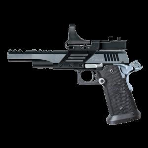 "Bersa SPS .38 Super 21+1 5.5"" Pistol in Steel (Vista Long) - SPVL38SBC"