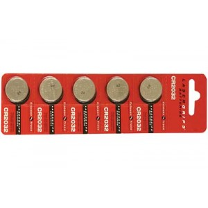 Crimson Trace Corporation Cr2032 Battery, 5 Pack 26-1012
