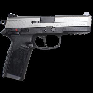 "FN Herstal FNX-45 .45 ACP 15+1 4"" Pistol in Stainless Steel (Manual Safety) - 66962"