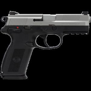 "FN Herstal FNX-9 9mm 10+1 4"" Pistol in Stainless Steel (Manual Safety) - 66838"