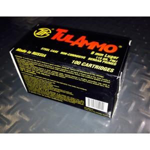 TulAmmo 9mm Full Metal Jacket, 115 Grain (100 Rounds) - TA919100