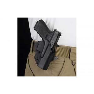 Desantis Gunhide 42 Facilitator Right-Hand Belt Holster for Glock 17, 22 in Black Kydex - 042KAB2Z0