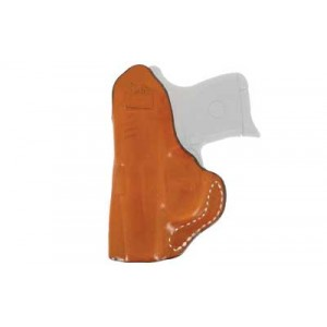 """Desantis Gunhide 45 Summer Heat Right-Hand IWB Holster for Smith & Wesson J-Frame in Tan Leather (2"""") - 045TA02Z0"""
